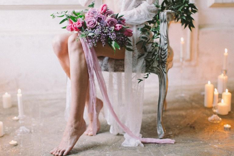 Трепетные чувства: стилизованная фотосессия утра невесты