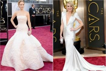 Красная ковровая дорожка: 20 звездных платьев для вдохновения невесты
