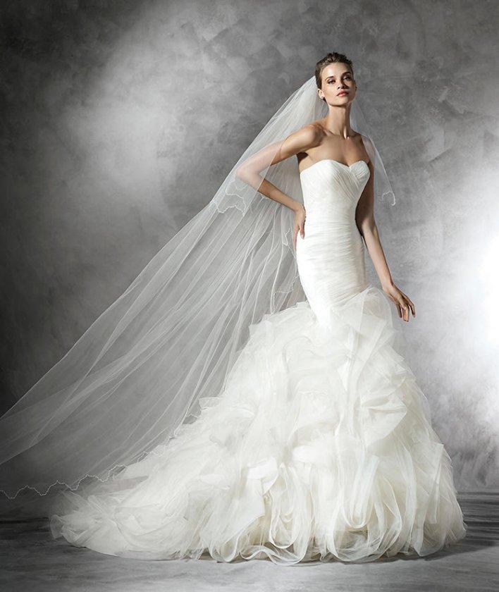 20 лучших свадебных платьев от Pronovias 2016