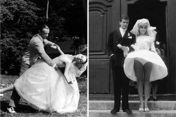 От Одри до Мэрилин: как отличались свадебные платья звезд в кино и в жизни?