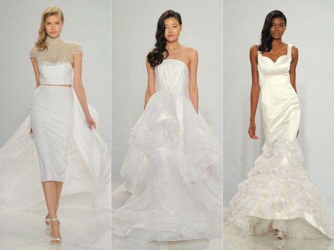 Коллекция свадебных платьев Christian Siriano весна 2017