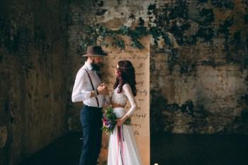 Яркие чувства: стилизованная фотосессия Олега и Кристины