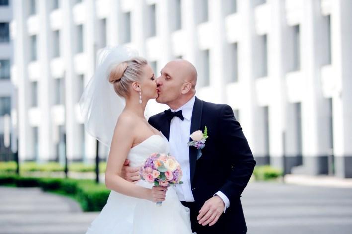 В ритме города: свадьба Светланы и Сергея