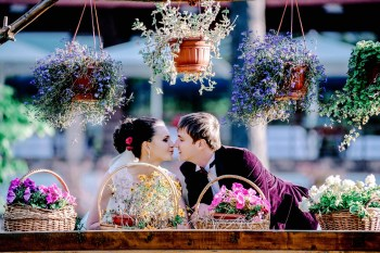 Wine wedding: свадьба Виктории и Андрея