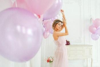 Воздушное утро невесты: будуарная съемка