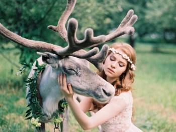 В зачарованном лесу: стилизованная фотосессия Яны и Александра