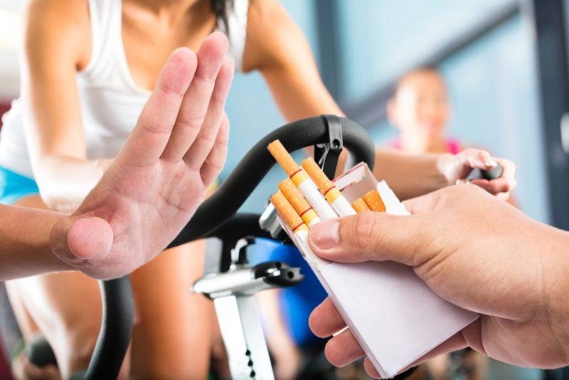 Можно ли курить и заниматься спортом. Изображение номер 3