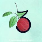 THREE -- digital number art by lisa at the-compulsive-gardener