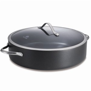 Baccarat iD3 Hard anodised 32cm Sauté Pan with Lid