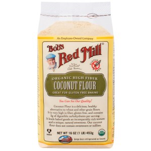 Bob's Red Mill, Organic High Fiber Coconut Flour, Gluten Free