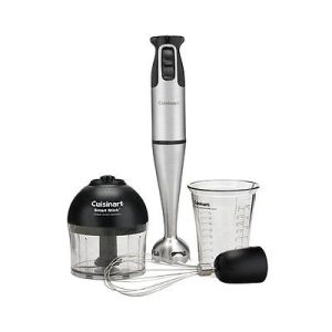Cuisinart Stick Blender Stainless Brushed with Attachments
