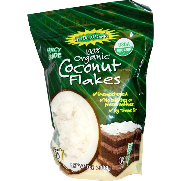 Edward and Sons Organic Coconut Flakes Unsweetened