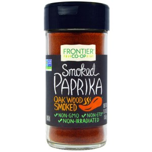 Frontier Natural Products, Smoked Paprika, Oak Wood Smoked