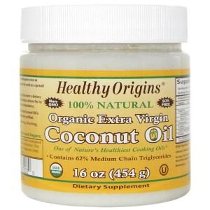Healthy Origins, Organic Extra Virgin Coconut Oil