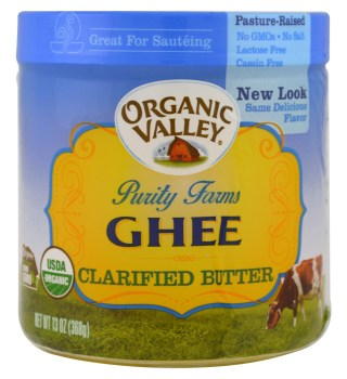 Organic Valley Purity Farms, Organic, Ghee, Clarified Butter