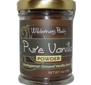 Wilderness Poets Pure Vanilla Powder Madagascan Ground Vanilla Beans