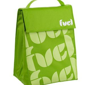 Trudeau Fuel Triangle Insulated Lunch Cooler Bag