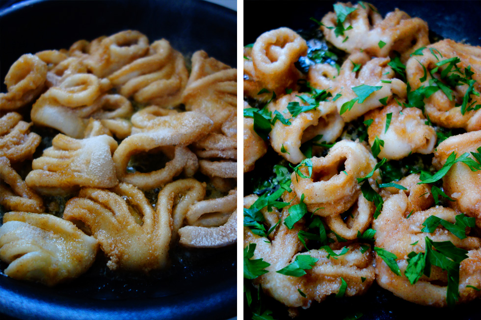Gluten Free Salt and Pepper Squid