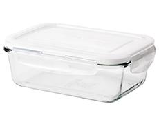 IKEA FÖRTROLIG Glass rectangle container