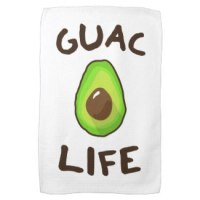 GUAC (Guacamole) LIFE Tea Towel