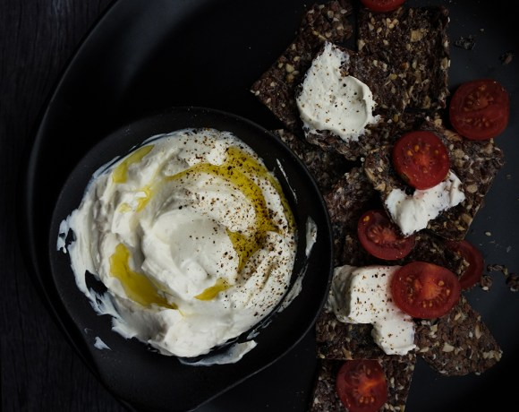 Roast Garlic Whipped Feta