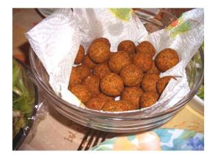 Deep Fried Sweet and Sour Tofu Balls