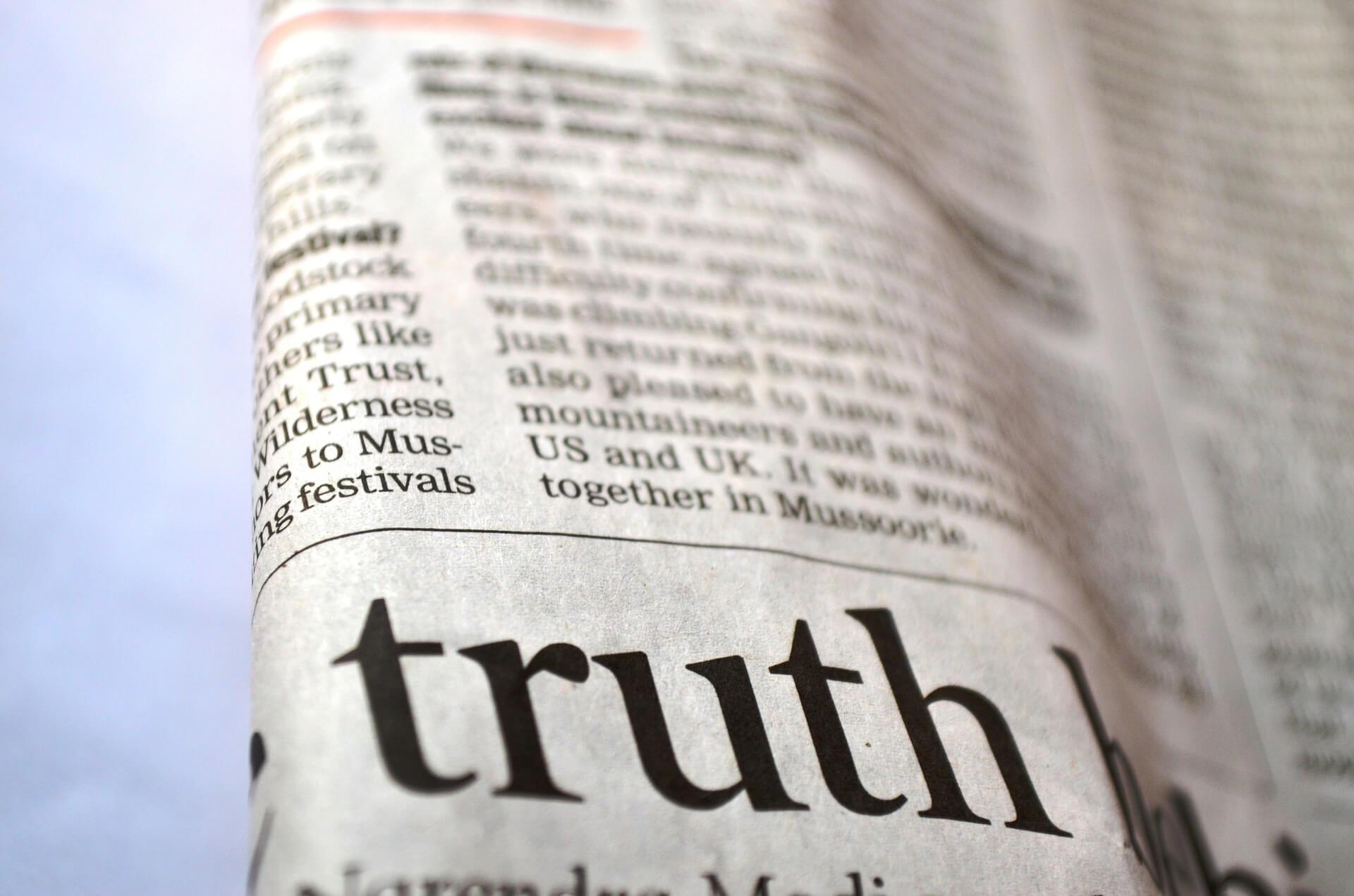 Blog Wahrheit vs. Ehrlichkeit