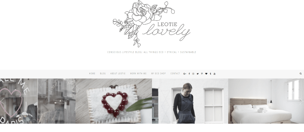 Top 10 Ethical Fashion Bloggers | The Curious Button | Leotie Lovely
