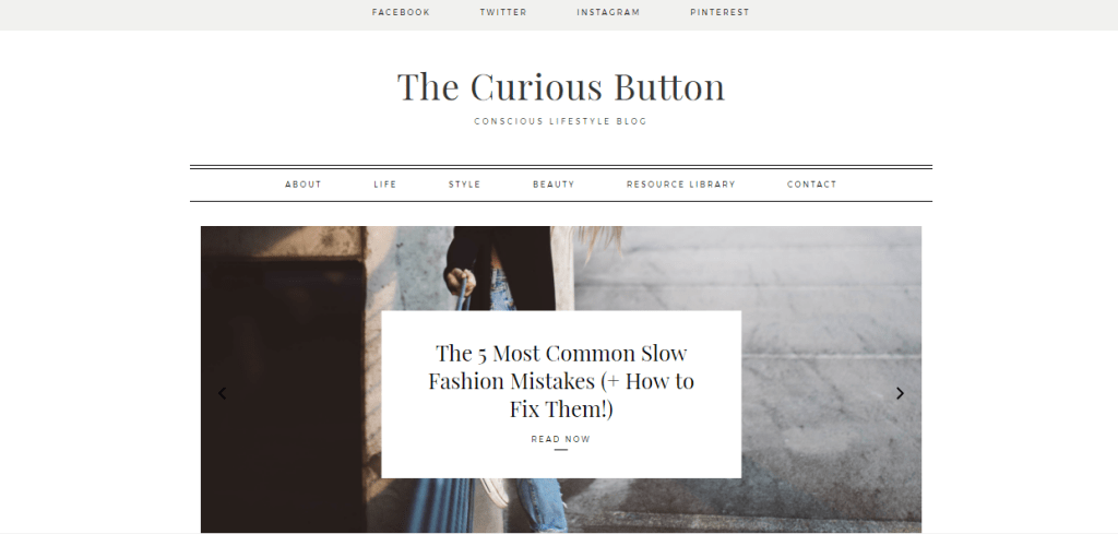Top 10 Ethical Fashion Bloggers | The Curious Button