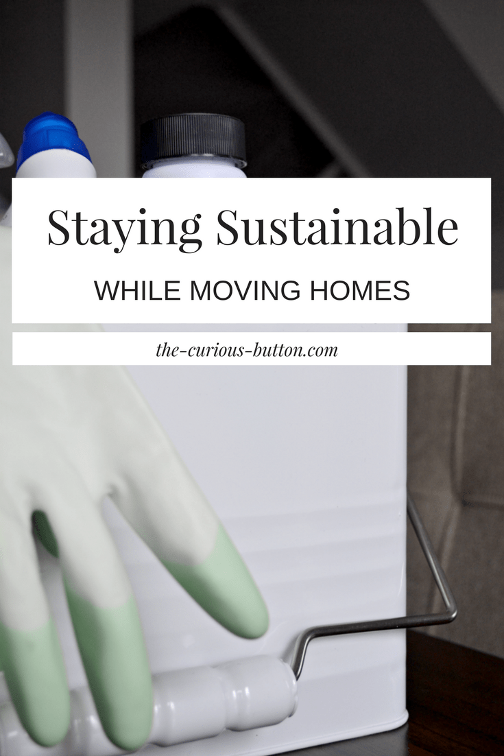 Staying Sustainable While Moving Homes | The Curious Button