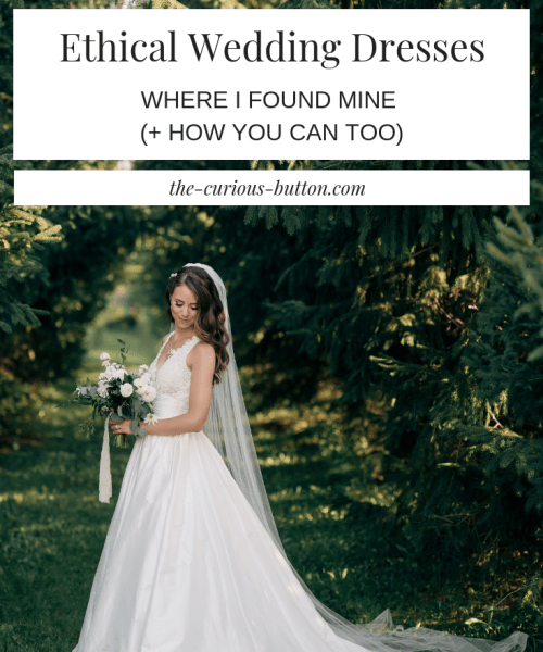 Where and How I Found My Dream Ethical Wedding Dress (+ How You Can, Too) | The Curious Button (Photographer :: NovaMarkina Photography)