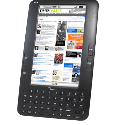 """Augen """"The Book"""" Kindle clone e-Reading Hardware"""