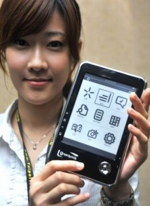 Green Book of Taiwan to sell e-reader e-Reading Hardware Uncategorized