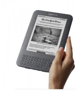 John Lewis to carry the Amazon Kindle e-Reading Hardware