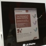 LG Display show off a new screen at FPD (video) Conferences & Trade shows e-Reading Hardware