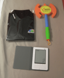 I scored the best swag at CES 2010 Conferences & Trade shows