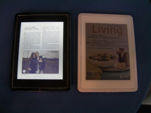 There's good news and bad news about Mirasol e-Reading Hardware