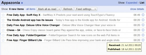 Google Reader now running up to 50 hours behind Google