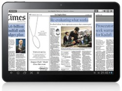 PressReader for Honeycomb now out (video) e-Reading Software
