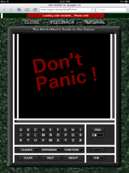 Check out the interactive HitchHiker's Guide from 1995 Blast from the Past