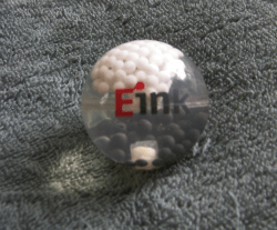 E-ink's most unusual product - a Snowglobe Geek Gear