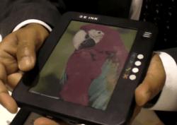 The Future of E-ink (video) e-Reading Hardware