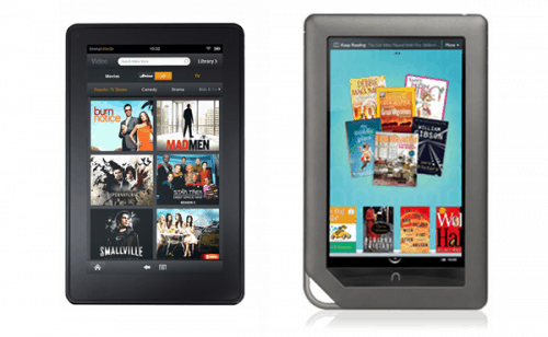 The Kindle Fire just Killed Off the Android Tablet Market e-Reading Hardware