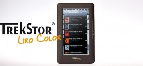 Trekstor Liro Color Android Tablet Launched at Frankfurt BookFair e-Reading Hardware