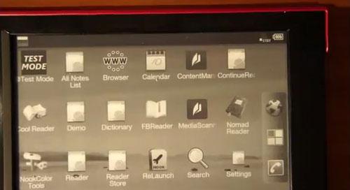 Sony Reader PRS-T1 hacked - Still Won't Run Angry Birds (video) e-Reading Hardware