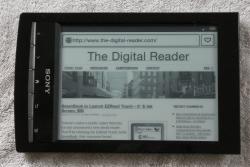Sony Reader Wifi now $129 (From Sony) e-Reading Hardware
