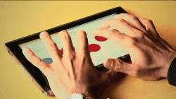 New App Turns a Tablet into a Braille Keyboard e-Reading Software
