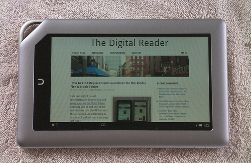 Nook Tablet Rooted, Android Market Installed e-Reading Hardware