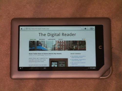 Nook Tablet Now in Stores (And In My Hands) Reviews