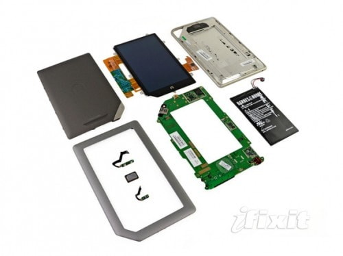 Inside the Nook Tablet e-Reading Hardware